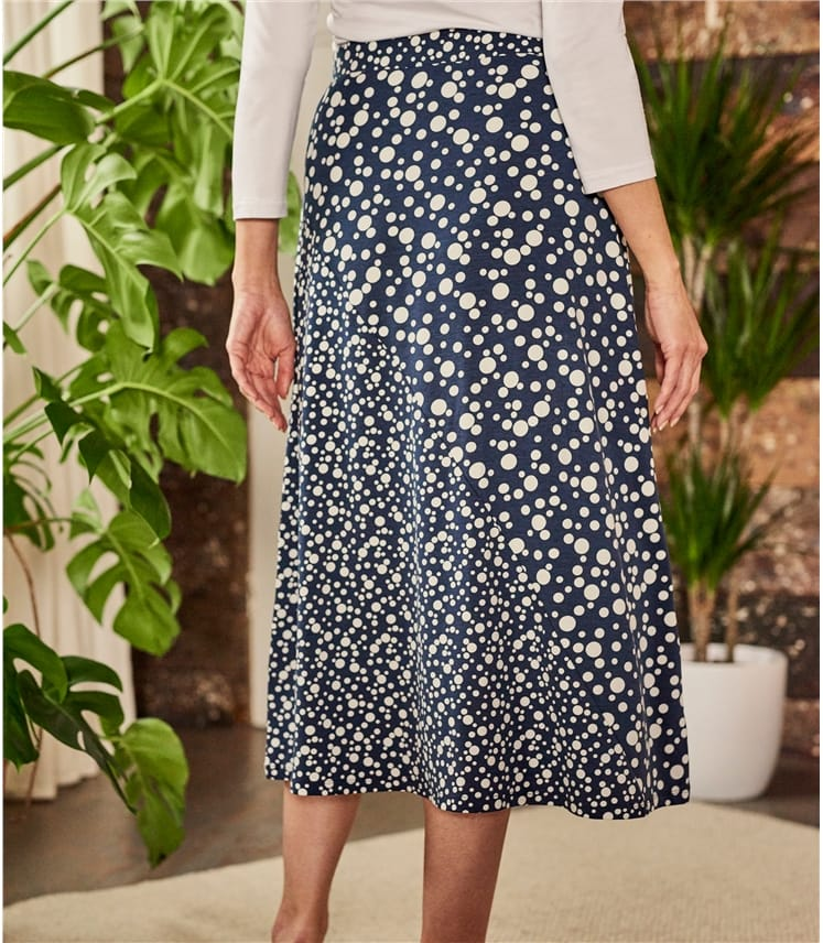 Womens Cut About A Line Skirt