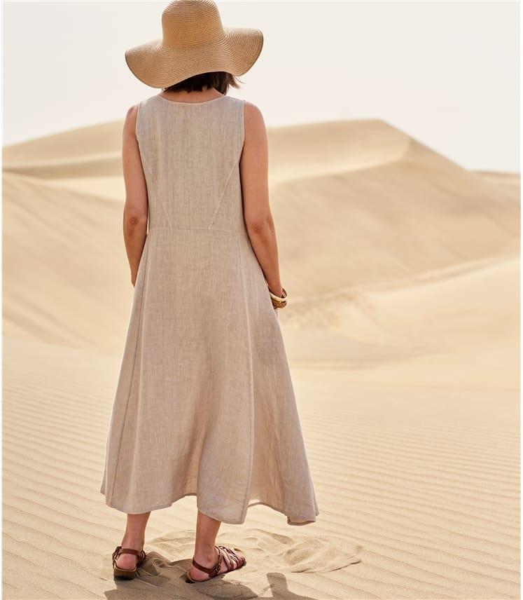 Womens Pocket Pinafore Dress