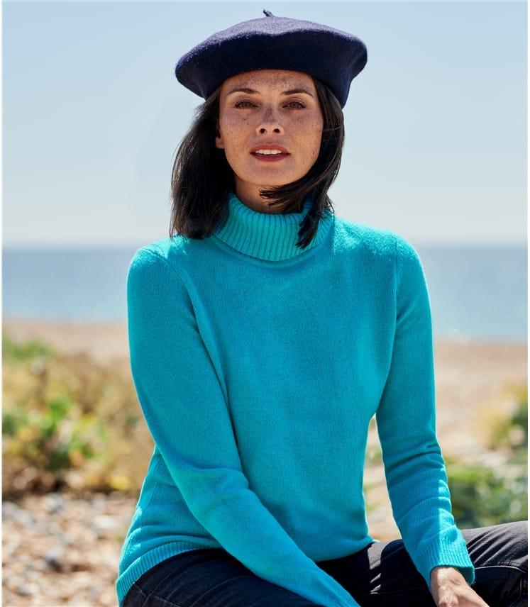 Lambswool Polo Sweater