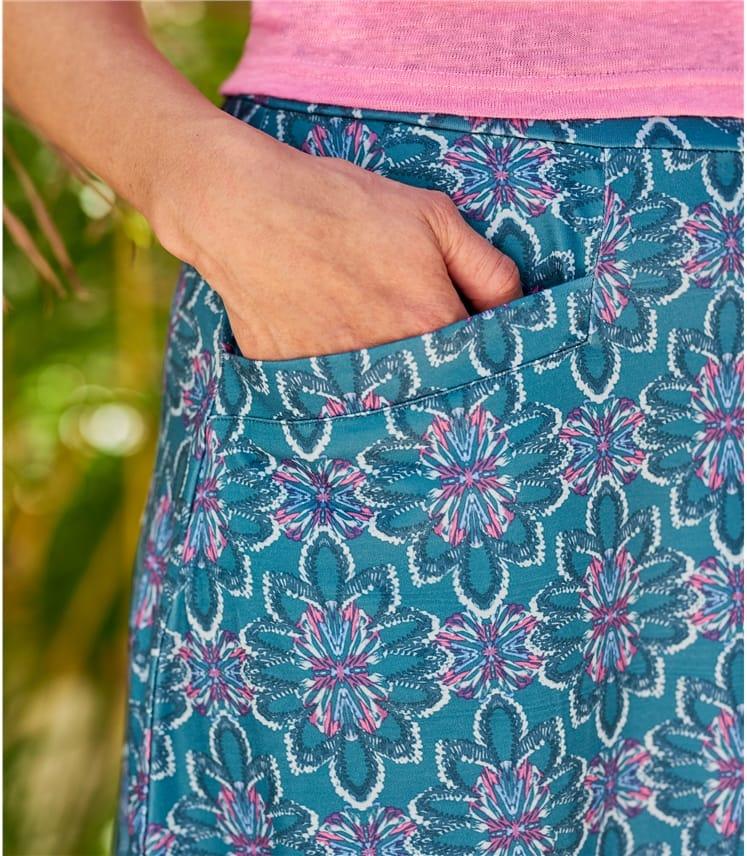 Womens Pocket Skirt