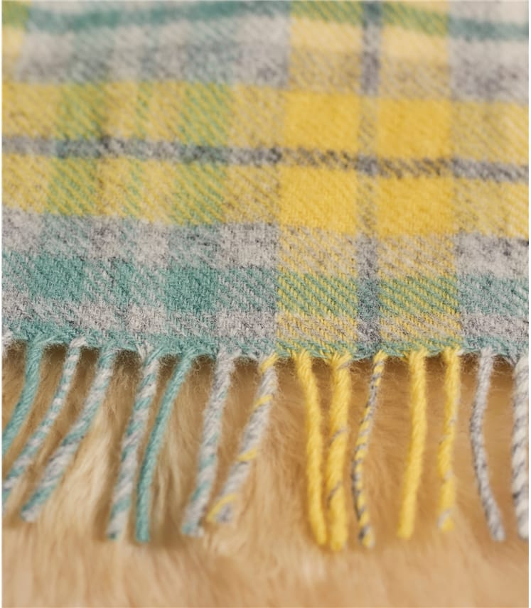 Pure Wool Cottage Throw