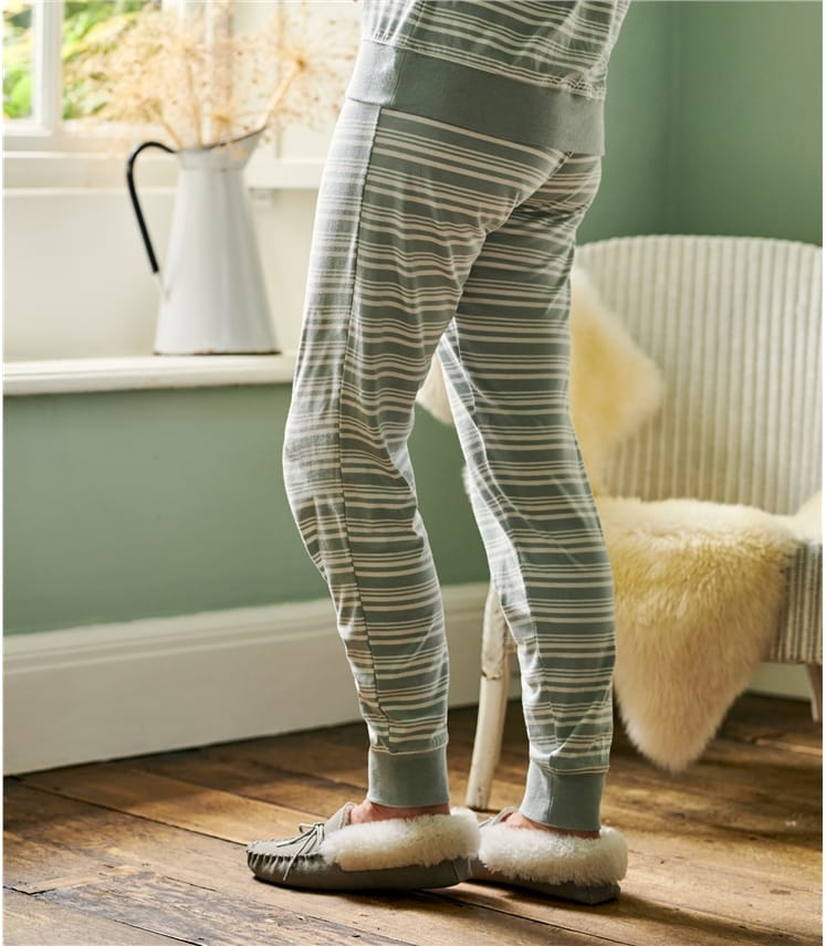 Jersey Stripe PJ Bottom