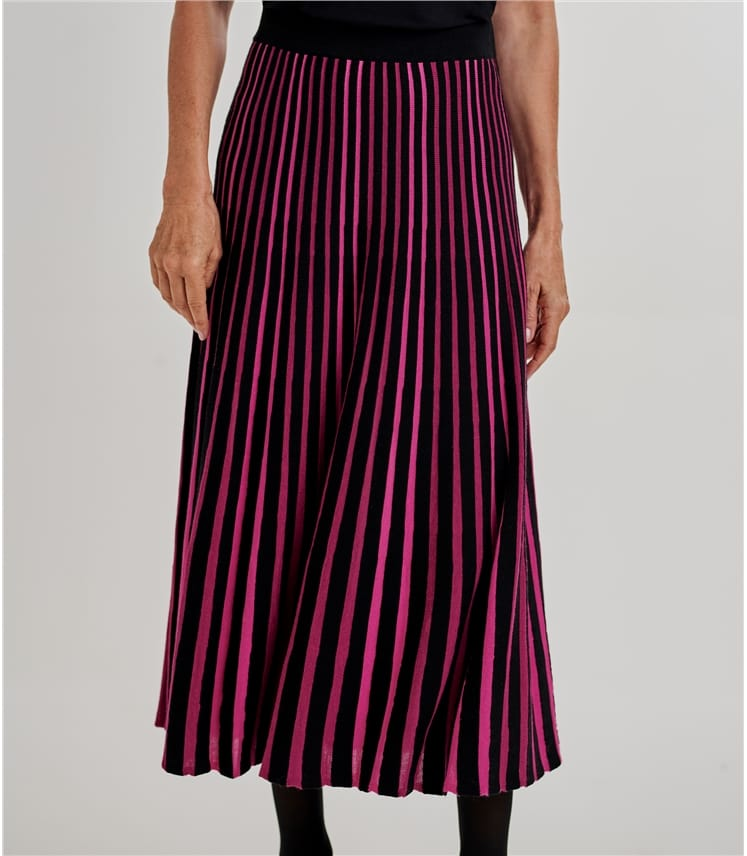 Womens Pleated Skirt