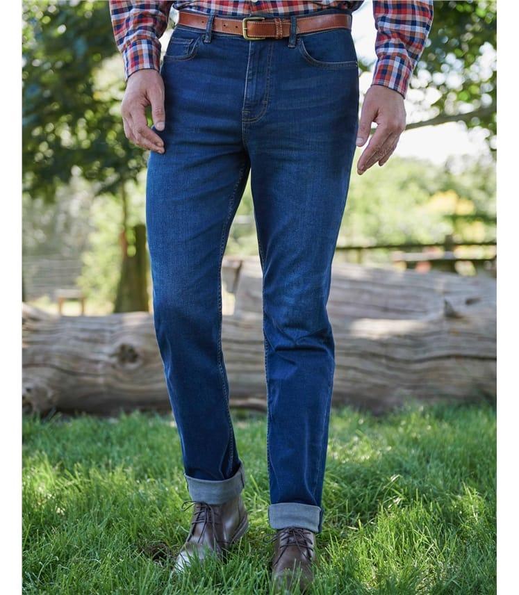 Moulton Tailored Fit Denim Jeans