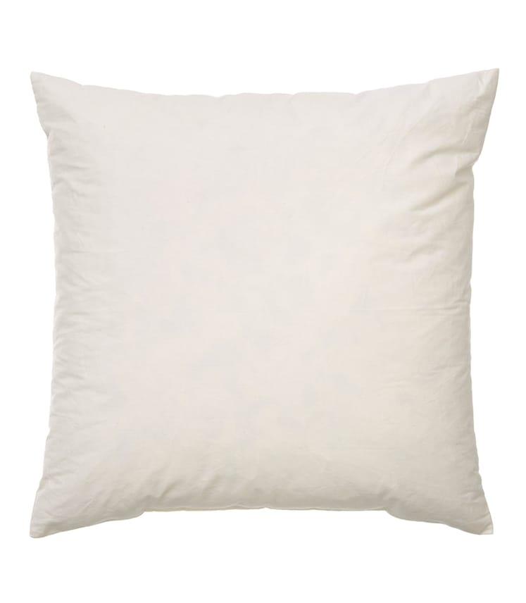 Coussin carré - Maison - Coton/Plumes