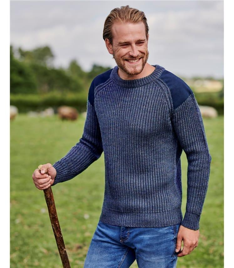 100% Pure Wool Countryman Sweater