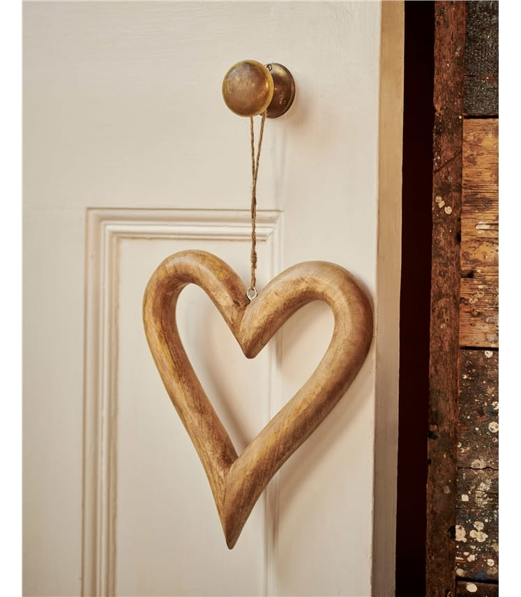 Pair of Hanging Hearts