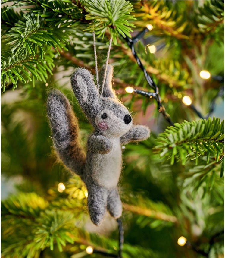 Sylvie Squirrel Christmas Decoration