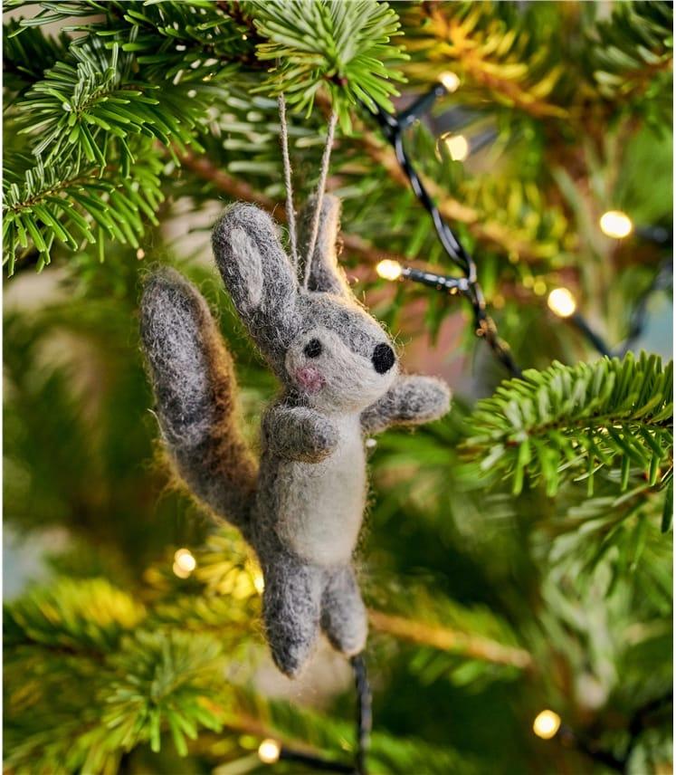 Sylvie Squirrel Christmas Decoration