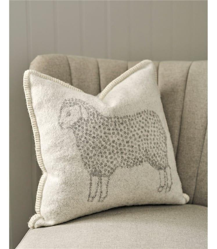 Sheep Cushion Cover