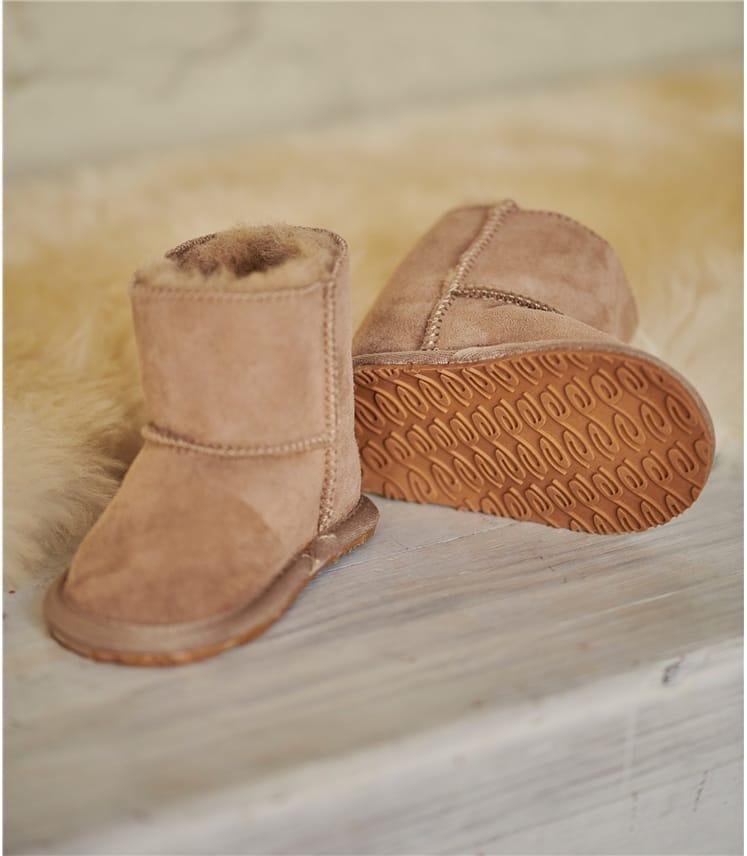 Hard Sole Baby Boot