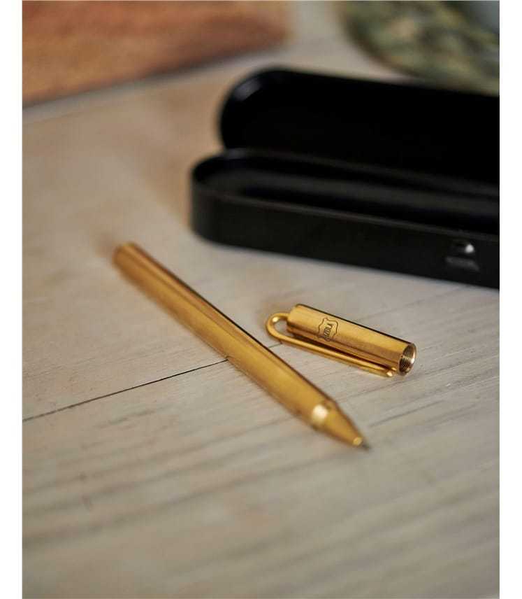 Messingkugelschreiber