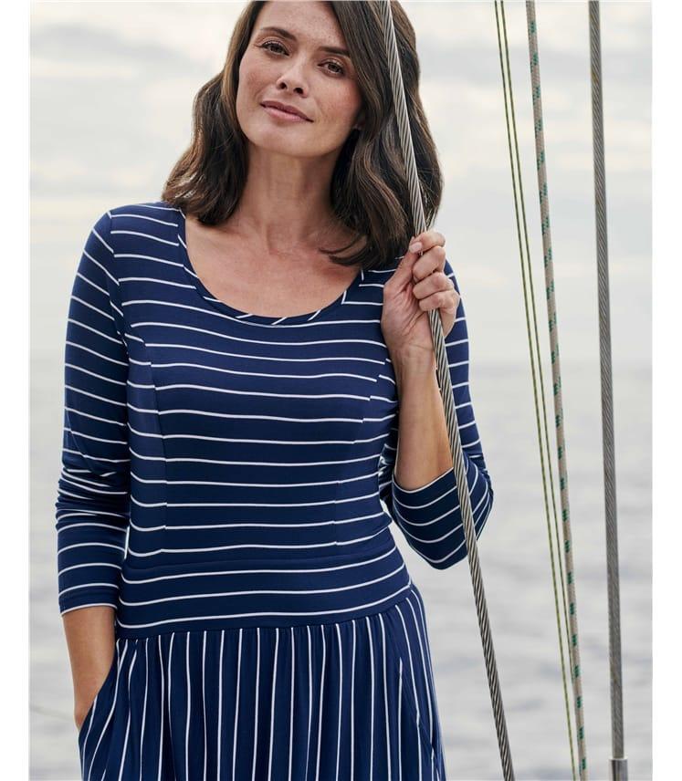 Cut About Stripe Dress