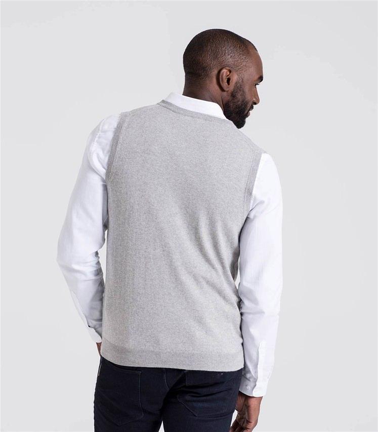 Mens Cashmere and Cotton Vest
