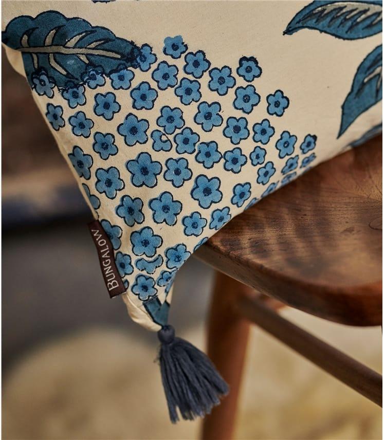 Housse de coussin rectangulaire imprimée - Maison - Pur Coton