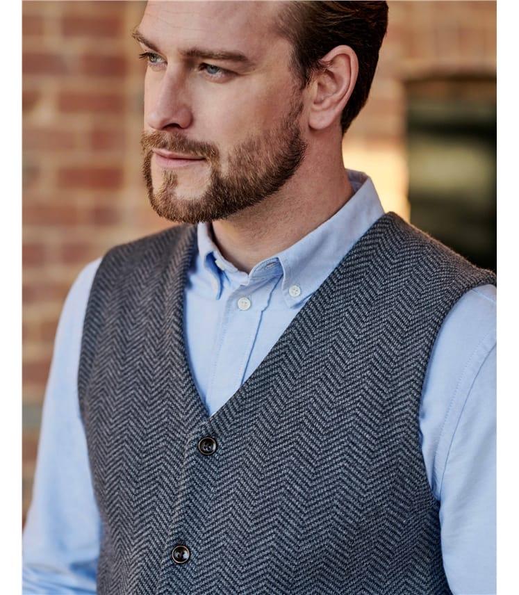 Organic Cotton Cashmere Waistcoat
