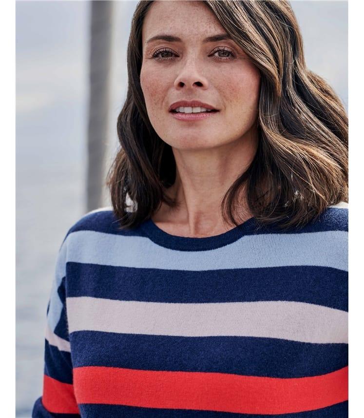 Wide Stripe Sweater