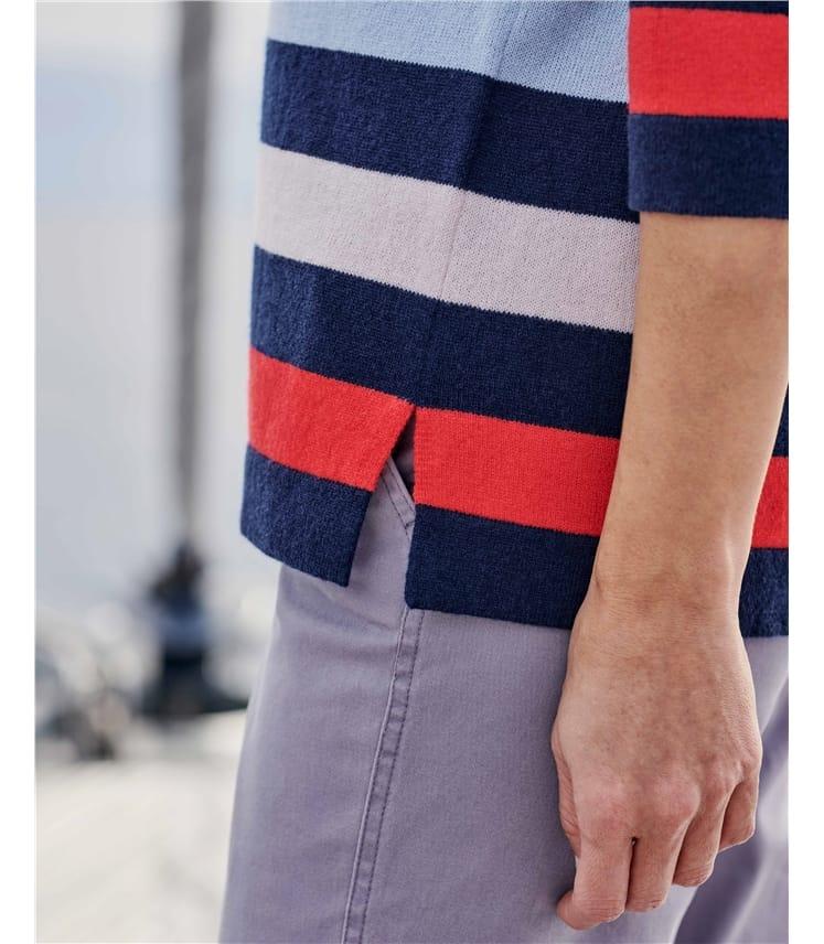 Wide Stripe Jumper