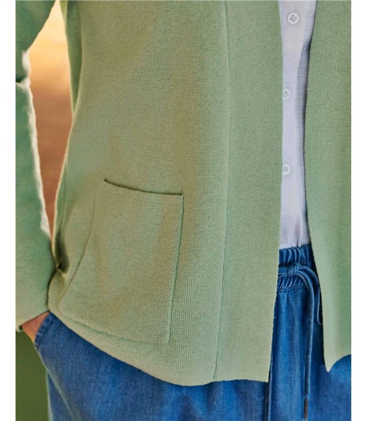 Wool Blend Half Milano Jacket