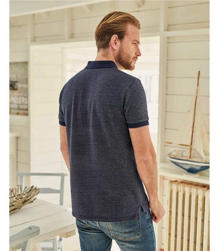 Mens Jersey Polo Shirt