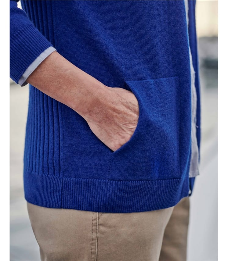 Relaxed Pocket Cardigan