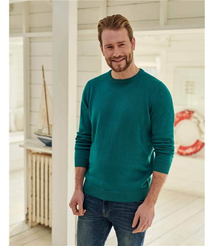 Organic Cotton Basic Crew Neck