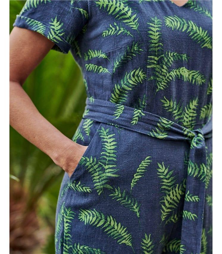 Tropical Printed Jumpsuit