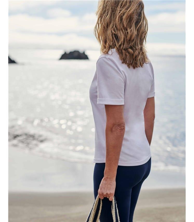 Organic Cotton Scoop Neck Tshirt