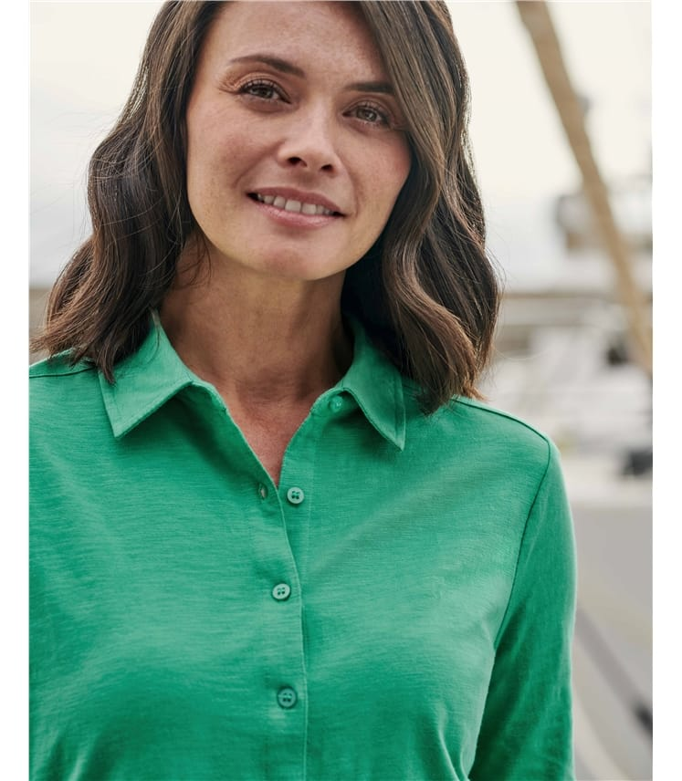 Женская блузка джерси