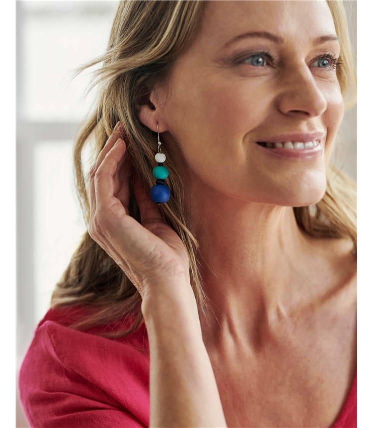 Bead Drop Earring