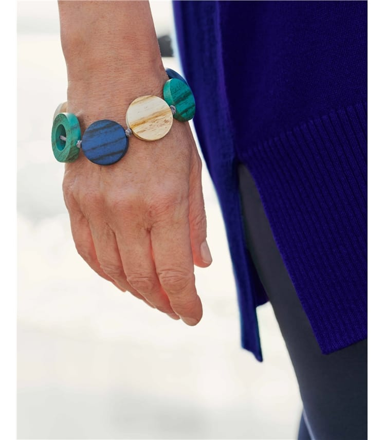 Hoop Tonal Disc Bracelet