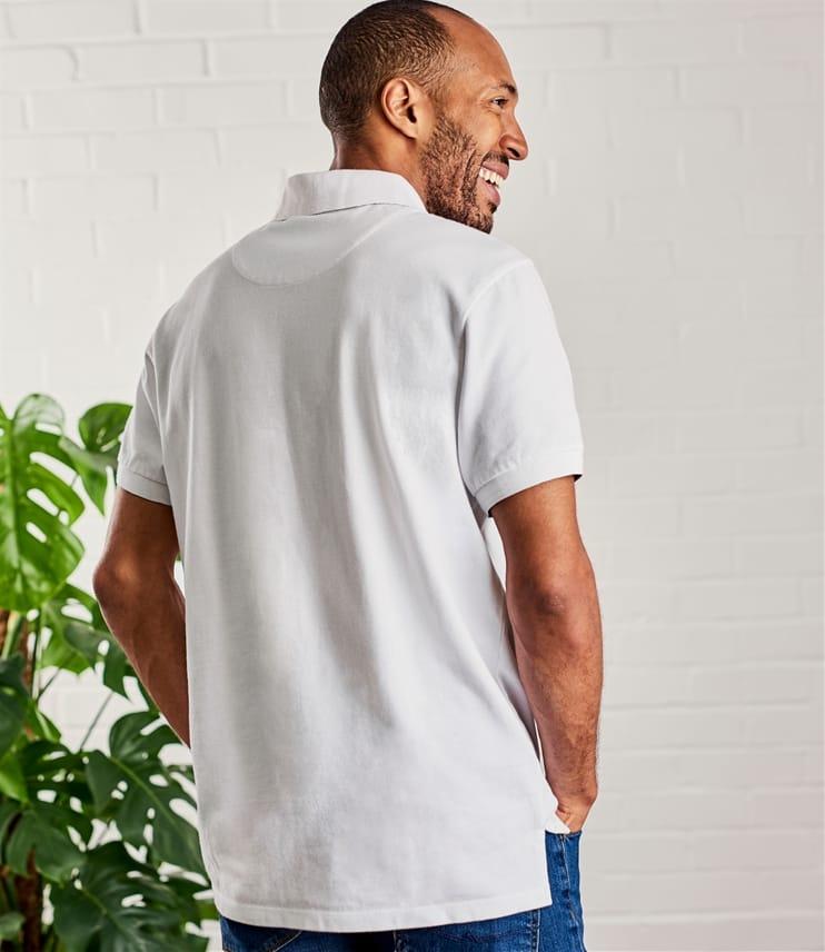 Polohemd aus Baumwolle für Herren