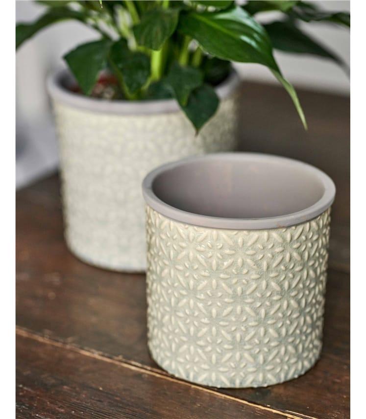 Burgon & Ball Tuscany Glazed Plant Pot Small
