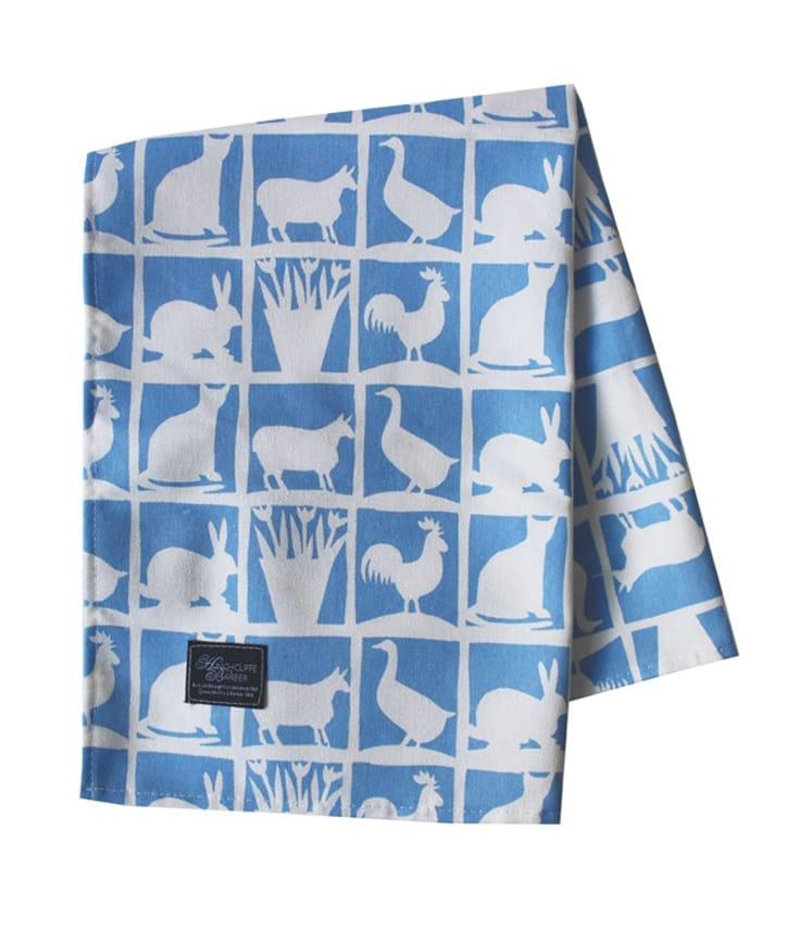 Mixed Animal Tea Towel