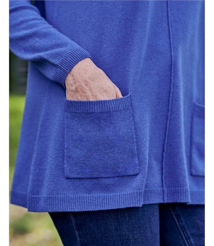 Cashmere & Merino Pocket Tunic