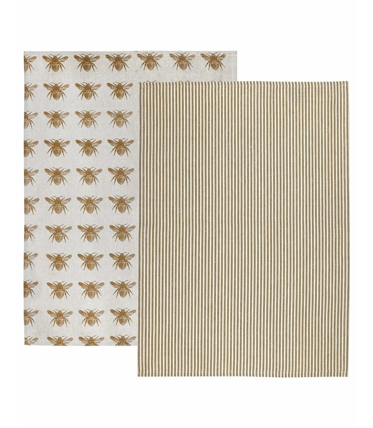 Recycled Cotton Tea Towel 2 Pack