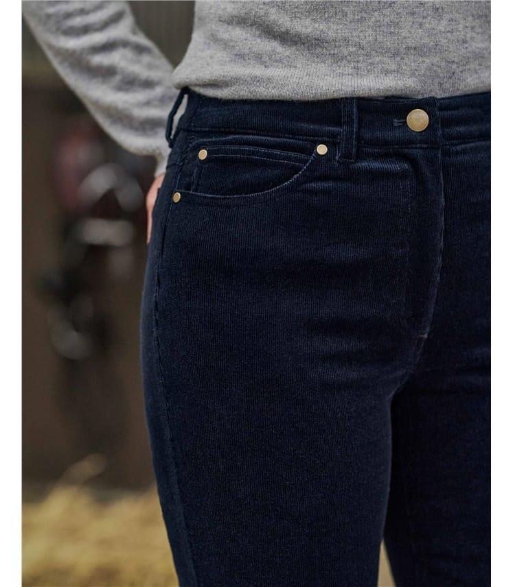 Cordhose aus Bio-Baumwolle für Damen