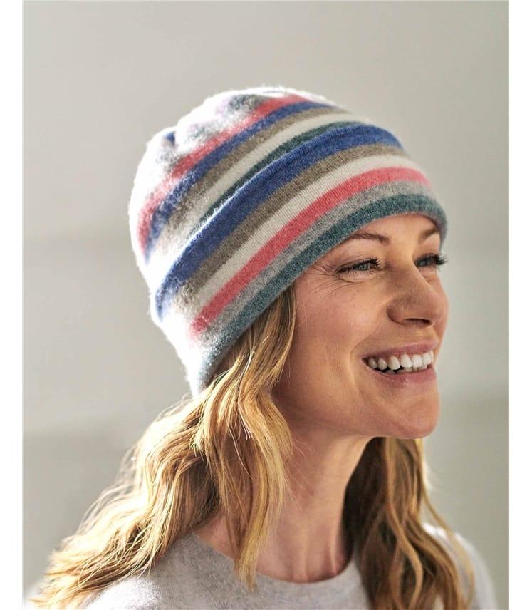Rainbow Stripe Hat
