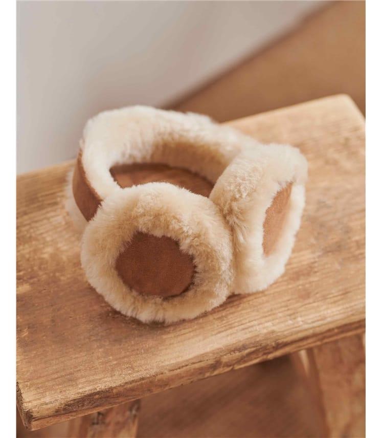 Childrens Sheepskin Earmuffs
