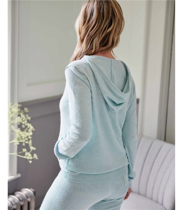 Cashmere And Merino Luxe Lounge Hoodie