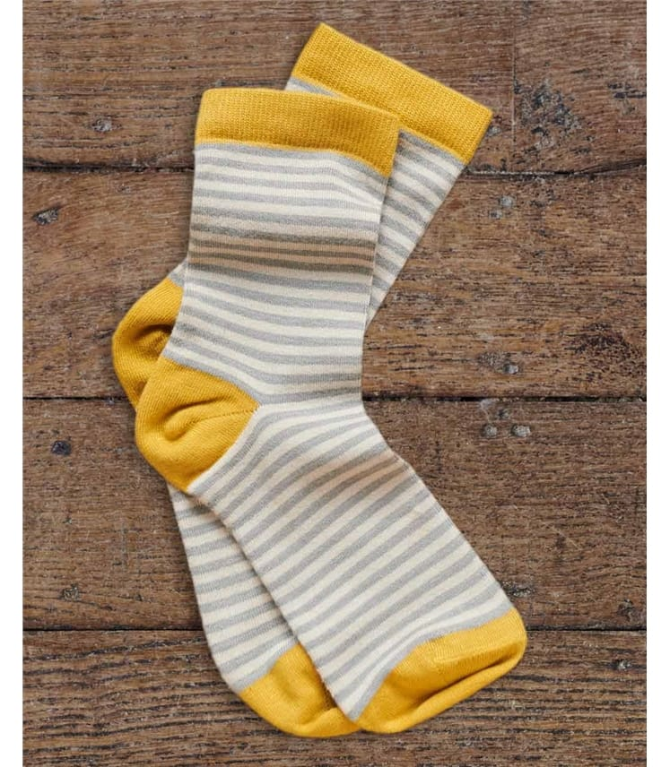 Womens Bamboo Stripe Sock