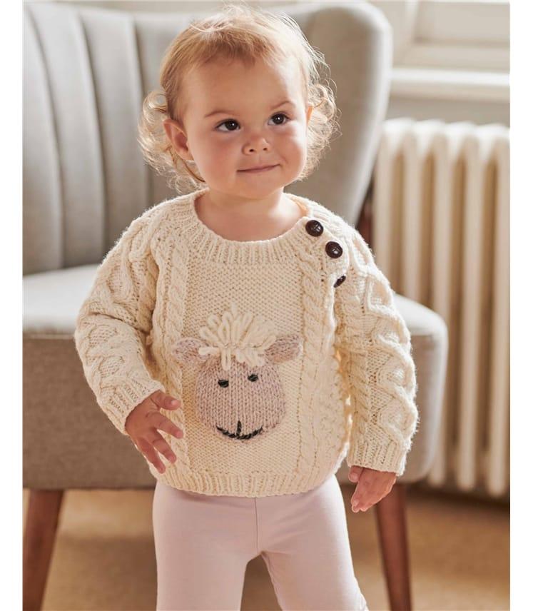Baby Sheep Knit Jumper