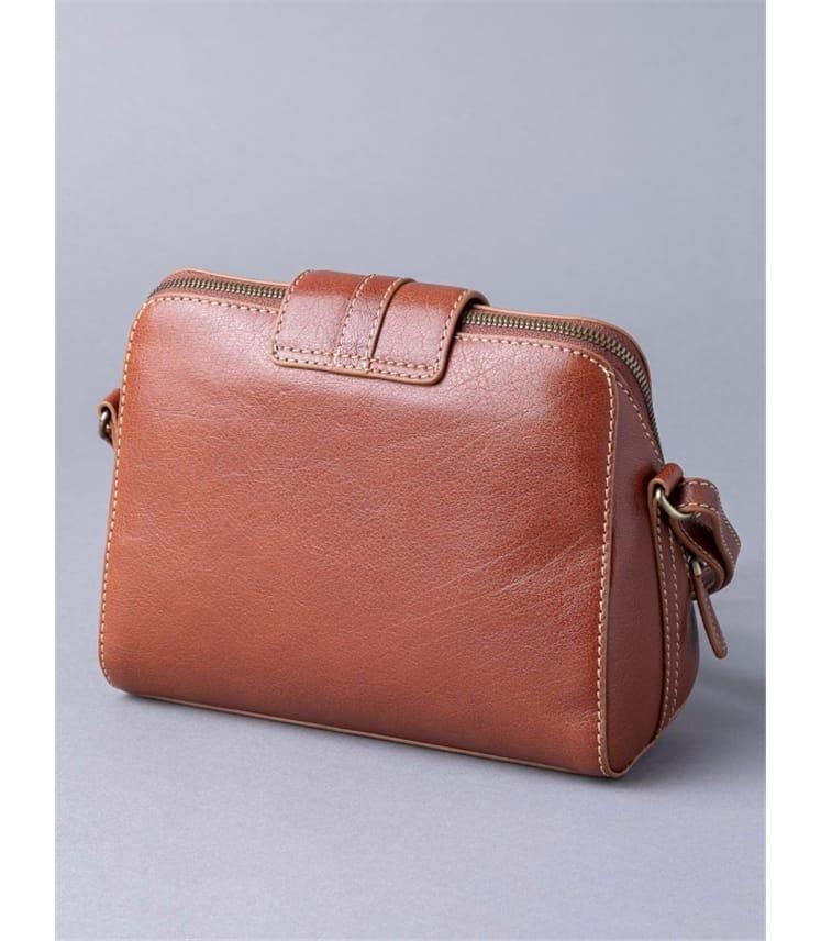 Birthwaite Leather Cross Body Bag