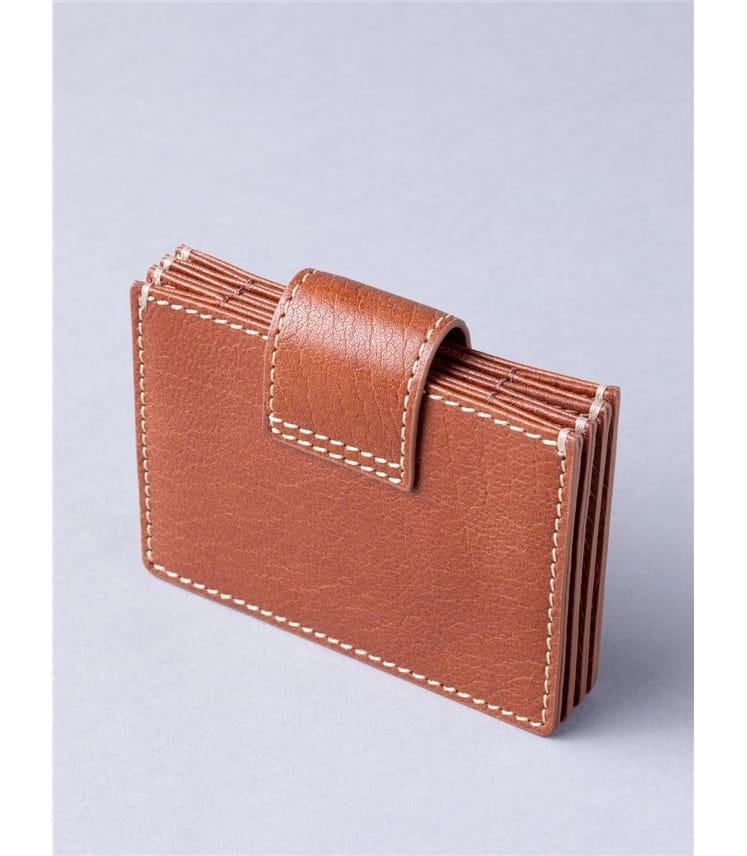 Birthwaite Leather Credit Card Holder
