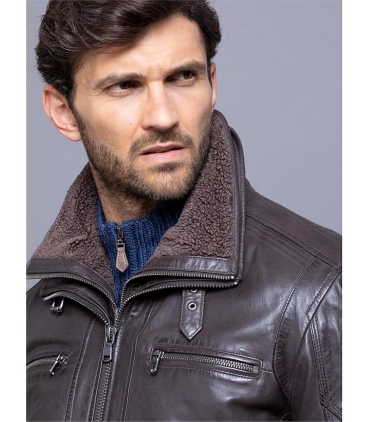 Derwent Leather Coat