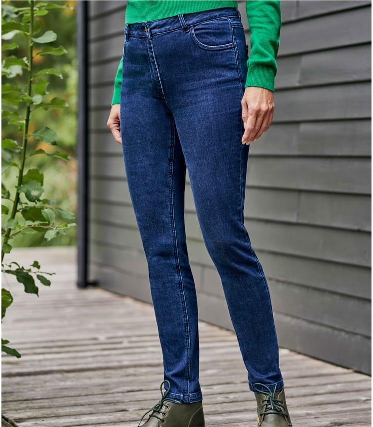 Jean coupe droite - Femme - Pur Coton
