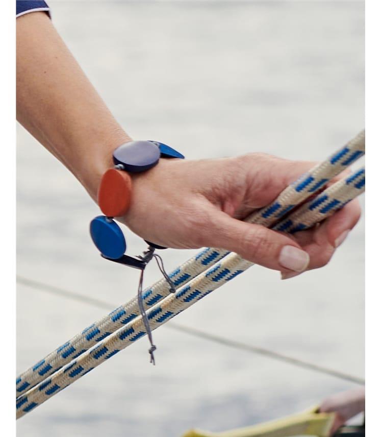 Tonal Disc Bracelet