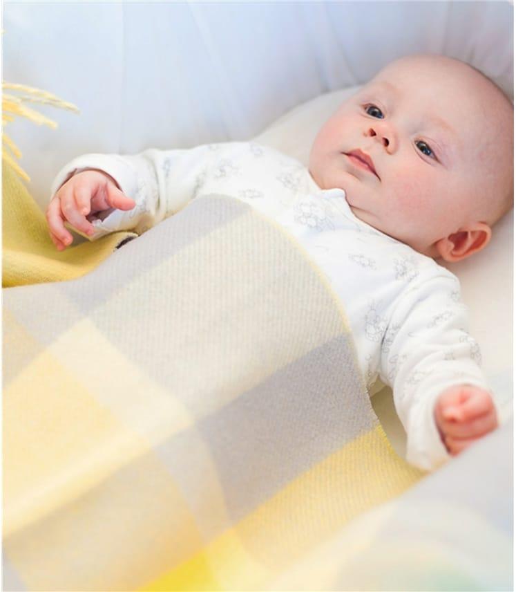 Couverture pour bébé - Laine d'Agneau