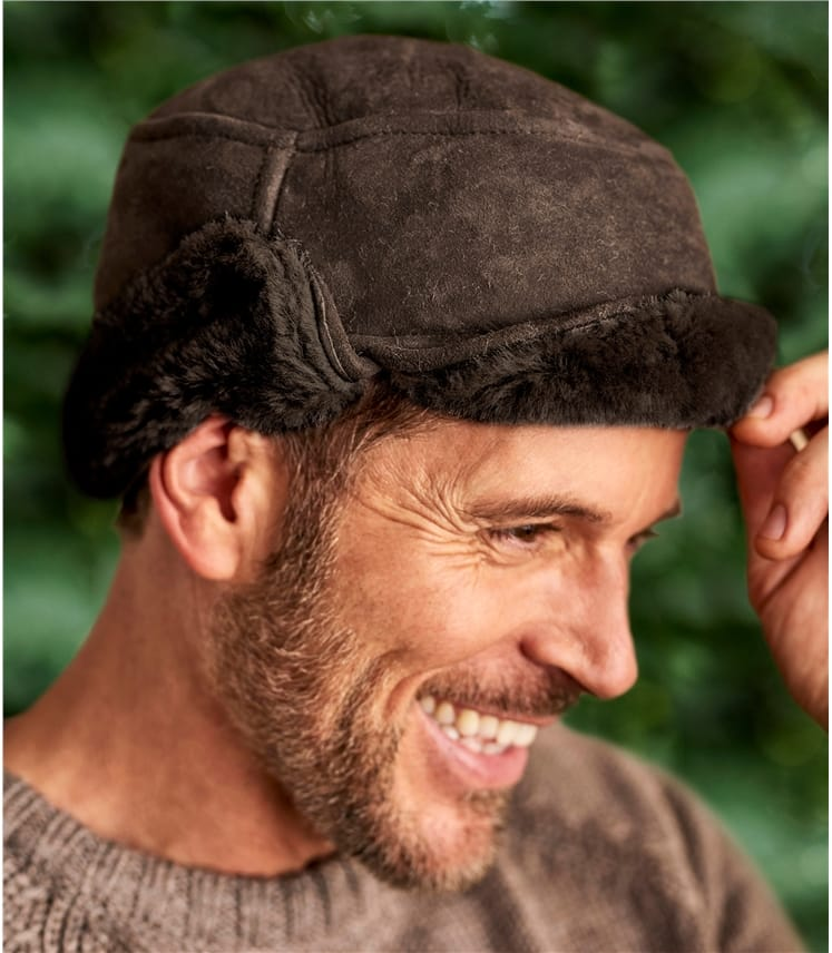 Мужская шапка охотника