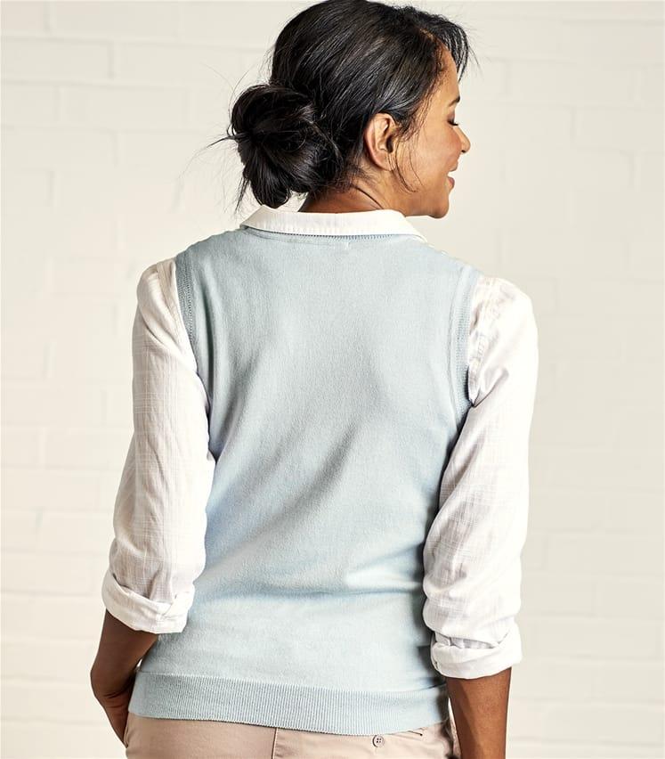 Womens Crew Neck Pattern Slipover